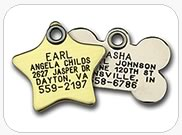 Traditional Metal Tags